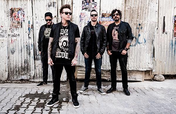 Papa Roach em Portugal com concerto em nome próprio