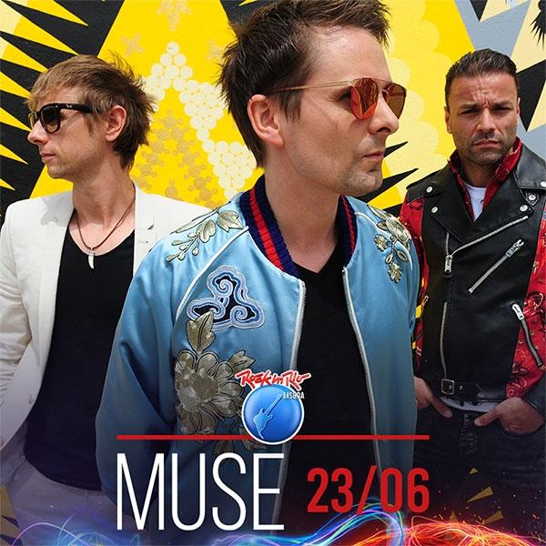 Muse confirmados para o Rock in Rio Lisboa 2018