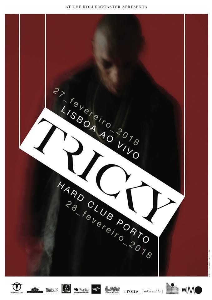 Tricky ao vivo com concerto em Lisboa e Porto